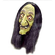 Vieja Bruja Máscara Verde