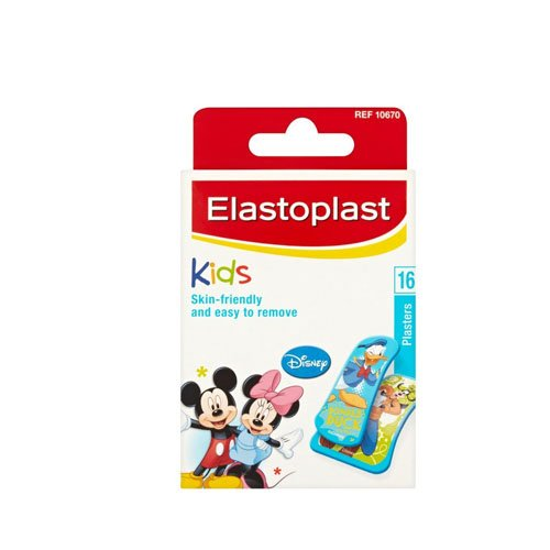 ELASTOPLAST Strips Mickey Mouse Pack de 16 Pansements