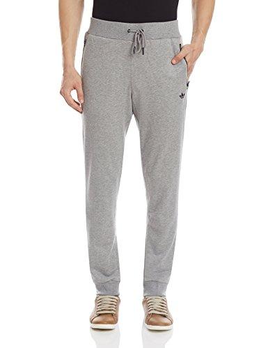 adidas -  Pantaloni sportivi  - Uomo Grigio