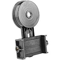 Yosoo Universal astronómico telescopio adaptador interfaz Smartphone soporte para cámara soporte Barcke 26,4–46,4mm