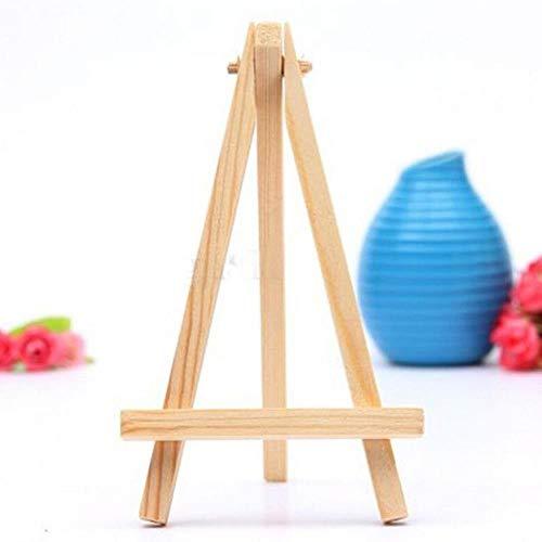 Cavalletto per pittura a treppiede per artista in legno mini 8 * 15cm per foto Pittura per cartoline Cartoline per esposizione...