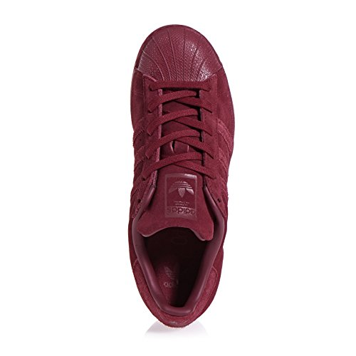 Adidas Unisex-kinder Superstar Low-top Burgundy