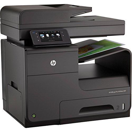 HP Officejet Pro X576dw e-All-in-One Tintenstrahl Multifunktionsdrucker (A4, Drucker, Scanner, Kopierer, Fax, Dokumentenecht, Wlan, USB, 1200x1200) CN598A#A80 - Desktop Wireless Hp