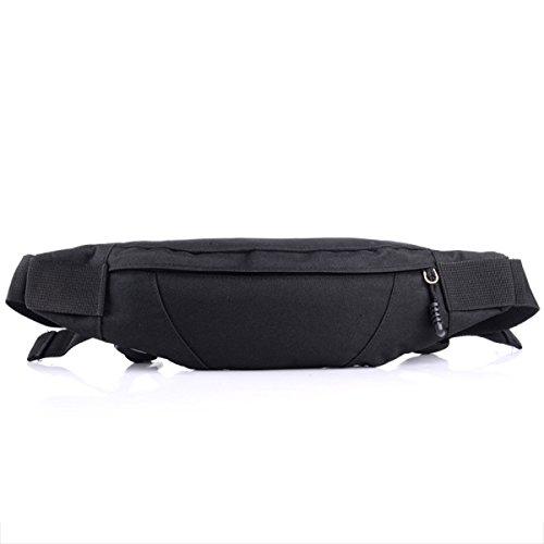 GXYLLDS Waist Pack Sport Correr Fitness Viajes Música Impermeable Seguridad Bolsa De Teléfono Móvil Hombres Y Mujeres Correr Correa,Khaki-OneSize