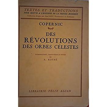Des révolutions des orbes célestes