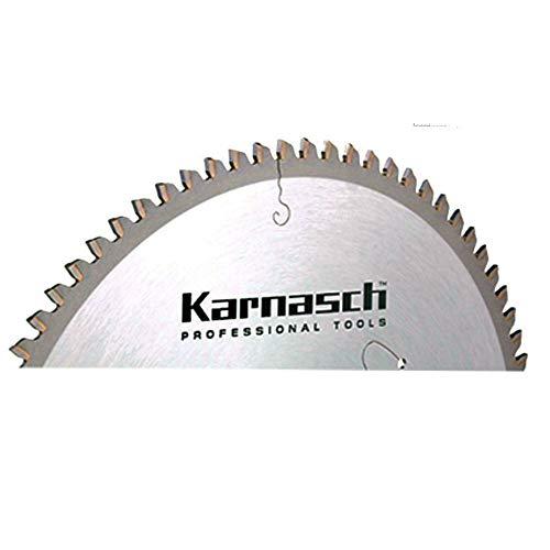 Karnasch HM-Blatt, HM-bestücktes Kreissägeblatt, Sägeblatt, Alu Negativ Dünnschnitt, 305 x 2,4 x 30mm 120 TFND