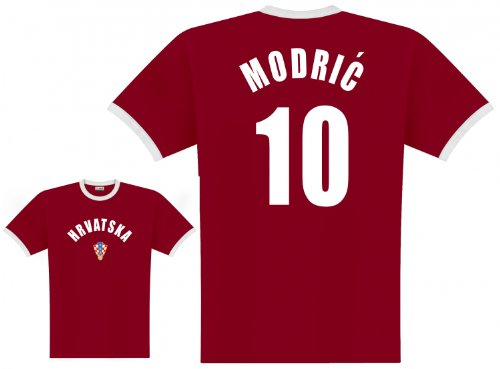 World of Football Player Shirt Kroatien Modric - 152