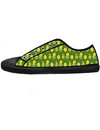 Dalliy Ananas Cartoon Men's Canvas shoes Schuhe Lace-up High-top Sneakers Segeltuchschuhe Leinwand-Schuh-Turnschuhe
