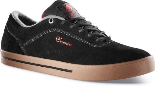 Emerica  G-CODE!!!,  Sneaker unisex adulto Nero (Black/Red/Gum)