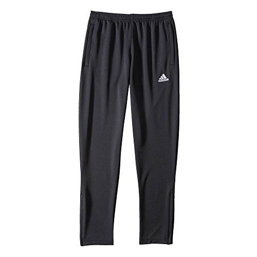 adidas Kinder Sporthose Lang Coref training pants y, schwarz/Weiß, 128, M35341 (Adidas Regen Hose)