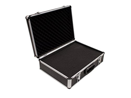 PeakTech 7310 - Universal Koffer für Messgeräte, Robuster Tragekoffer, Werkzeug Aufbewahrung, Würfelschaum Platten, Schaumstoff Polsterung, Abschließbar, Staubschutz, XL - 460 x 330 x 150 mm