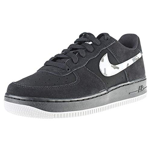 competitive price 74610 ceb4d Nike Air Force 1 (GS), Sneakers Basses Homme, Multicolore (Black