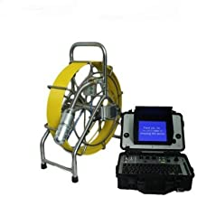 mabelstar 60m cable CCTV cámara de vídeo de alcantarillado drenaje Robot Fontanería inspección cámara de vídeo pantalla LCD a color de 8