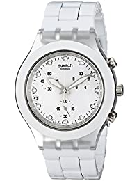 Swatch Preview Collection Full-Blooded White SVCK4045AG