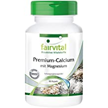calcio Premium con magnesio - GRANEL durante 3 meses - ALTA DOSIS - 180 cápsulas -