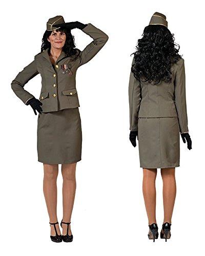 Costume da soldato donna militare soldatessa