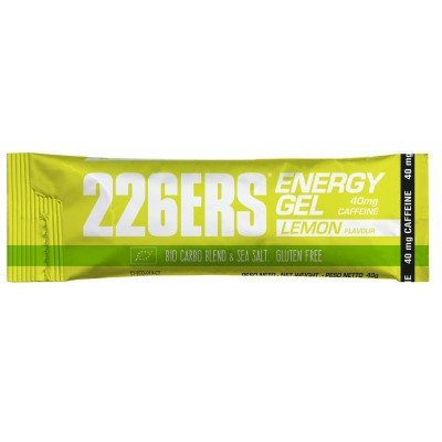 226ERS Energy Gel BIO 15 x 40g Limón 40mg Cafeína