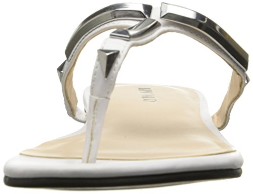Nine West Zyno Synthétique Tongs white