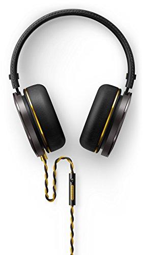 Onkyo H900MB/00 Over-Ear Kopfhörer mit Hochwertiger Geschlossener Architektur und Mikrofon schwarz