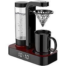 Hbwz Máquina de café, Taza Individual con Reloj, Tanque de Agua, Taza de