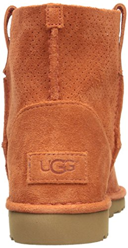 Ugg CLASSIC UNLINED MINI PERF 2017 fop Fire Opal