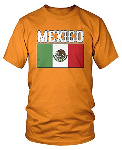 Men's Flag of Mexico, Mexican Flag T-Shirt XL