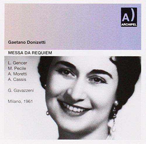 Messa da Requiem (Milan 26/03/1961) by Gencer; Pecile; Moretti; Cassis; RAI