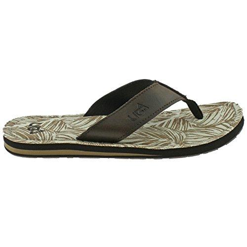 Urban Beach Herren Colorado Zehensteg Beach Flip Flops Sandalen Schuhe (Größen Erwachsene 6