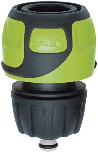 GF 80283060 Raccord Rapide Soft Touch Aqua Stop Tuyau Ø 12 à 15 mm-Vert, 40