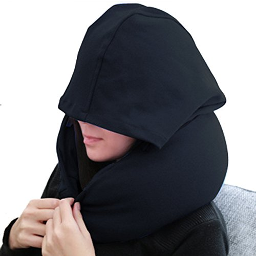 Univegrow - Almohada de viaje  negro negro