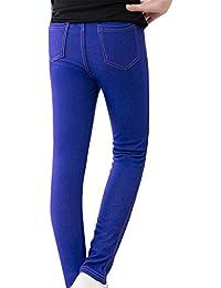 Fille Pantalons Enfants Taille Élastique Tight Chaud Épais Legging  Extensible c9c644e7af2f