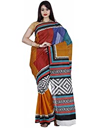 Classicate From The House Of The Chennai Silks Cotton Saree (Ccrifc259_Multicolour)