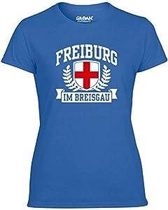 T-Shirtshock - T-shirt Frauen TSTEM0268 freiburg im breisgau tshirt