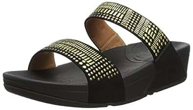 fitflop aztec chada slide damen sandalen schuhe handtaschen. Black Bedroom Furniture Sets. Home Design Ideas