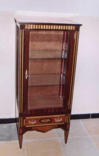 LouisXV Barock Vitrine Rokoko Antik Stil Schrank Louis XV MoVi0941 antik Stil Massivholz....