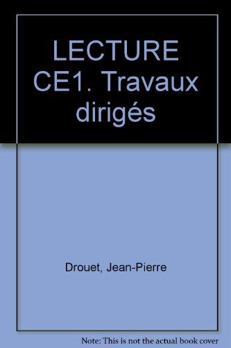 Éclats de lire : Lecture, CE1 (Travaux dirigés)