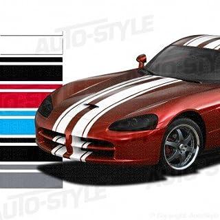 Autostyle RacingStripe 150 Rennstreifen, 20x90x20mm, Länge: 5m, silberfarben
