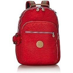 Kipling CLAS SEOUL Cartable, 45 cm, 25 liters, Rouge (True Red C)