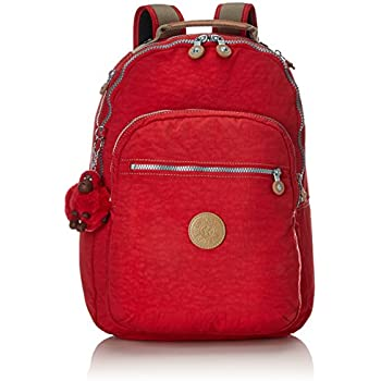 Kipling Clas Seoul S Petit Sac à dos vrai rouge C RRP £ 79