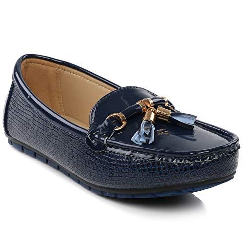 Shalimar shoes, sandali con zeppa donna, (marina militare), 41