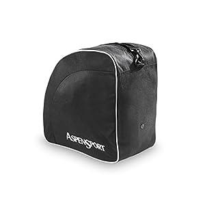 AspenSport Skischuhtasche, schwarz, 40 x 24 x 41 cm, 40 Liter