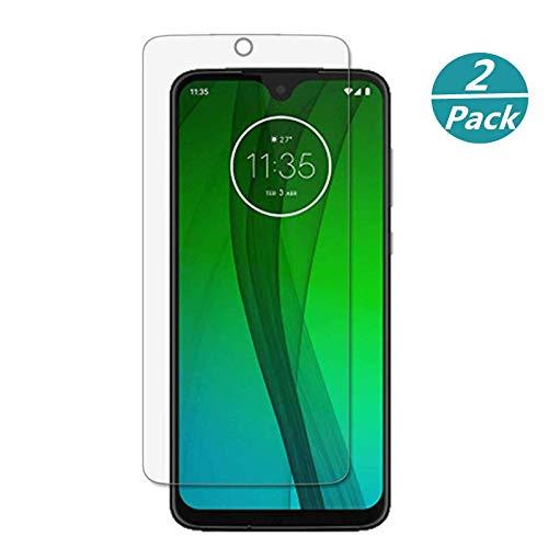 für Moto G7 Displayschutzfolie Motorola G7 Schutzglas Folie 9H Härte 0,3mm Ultra Premium Displayschutzfolie Panzerglas für Motorola Moto G7