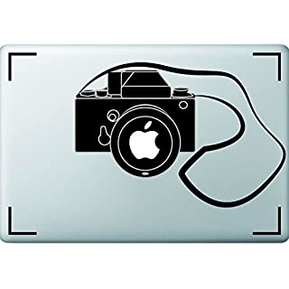 Atominc's Camera themed Vinyl sticker for photographers Apple MacBook or Laptop