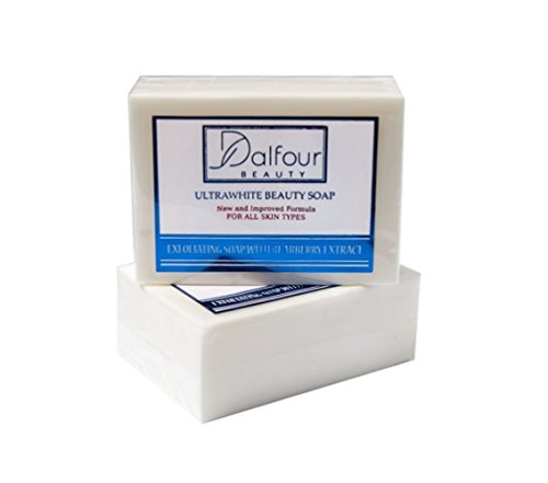 10x Dalfour BEAUTY UltraWhite savon de beauté - IDÉAL POUR TOUS LES TYPES DE PEAU ! / 10x DALFOUR BEAUTY ULTRAWHITE BEAUTY SOAP - GREAT FOR ALL SKIN TYPES!