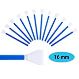Lens-Aid Sensor Swabs zur Reinigung von APS-C Kamera Sensoren: 12x Mikrofaser Cleaning Swab 16 mm in staubdichten Pack