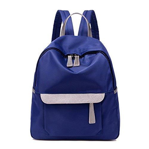 la borsa di stoffa, oxford, signore di borsa, breve,black blu