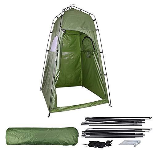 Outdoor Camping Pop Up Toilettenzelt, Tragbare Baden Umkleidezelt Duschzelt Lagerzelt Angeln Abstellraum Zelte 120 * 120 * 195cm