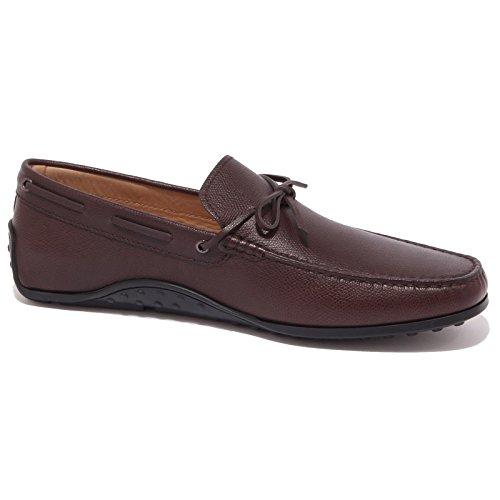 4257Q mocassino uomo TOD'S scarpa marrone shoes loafer men Marrone scuro