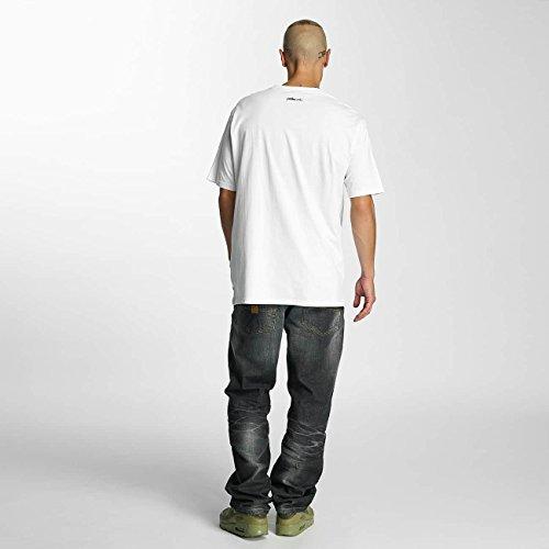 Pelle Pelle Uomo Maglieria/T-Shirt Combat Icon Bianco