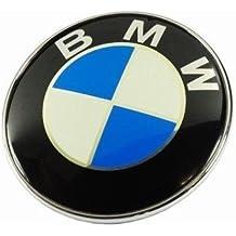 antz 51148132375 2Pin per Bagagliaio Cofano Anteriore e Posteriore Blu Bianco Logo Emblema